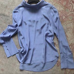 J. Crew UK 100% silk blouse